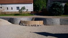 Rekonstrukce rybníka na návsi